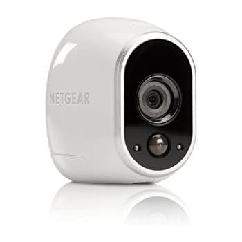 Arlo by NETGEAR Security System – 1 Wire–Free HD Camera| Indoor/Outdoor | Night Vision (VMS3130)