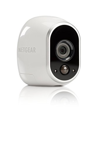 Arlo by NETGEAR Security System - 1 Wire-Free HD Camera| Indoor/Outdoor | Night Vision (VMS3130), Works with (Indoor Outdoor Security System)