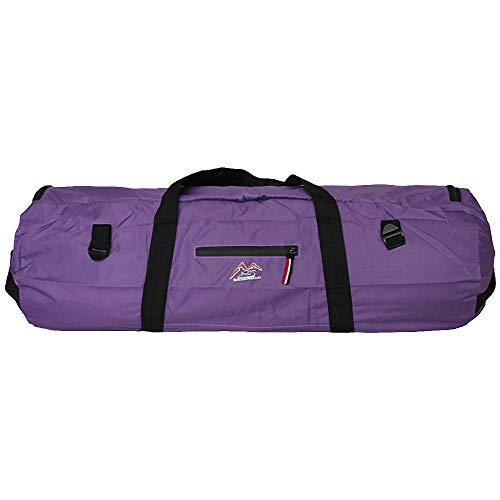 Explopur Bolsa de La Tienda - Bolsa de Tienda de Campaña Plegable Portátil Bolsa de Viaje de Lona Deportiva al Aire Libre (Púrpura, S)