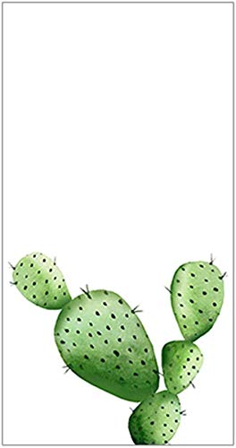Glass Sticker Glue-Free Frosted Glass Sticker, Tropical Cactus Window Film for Bathroom, -