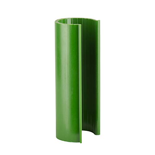 HD Green Snap Clamp 3/4 Inch x 3 Inches Wide for 3/4 Inch PVC Pipe 10 per - Clamp Pvc 3 Pipe 4
