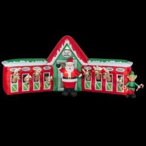 Awesome Inflatable Christmas Yard Centerpiece