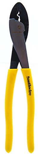 Southwire Tools TCC9D 9 Terminal Crimper/Cutter with Dipped Handles by Southwire Tools & Equipment