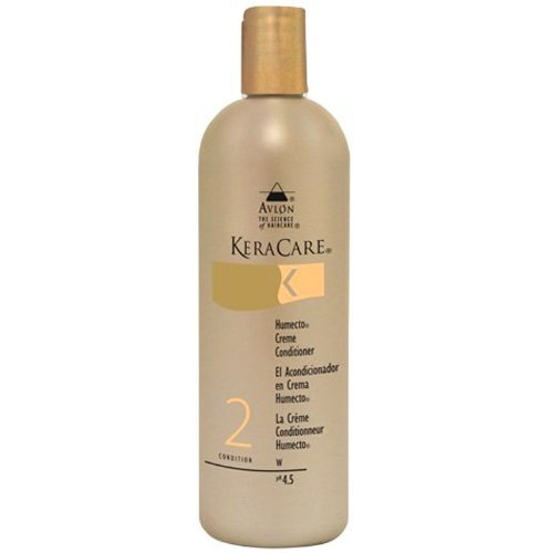 Keracare Humecto Creme Conditioner 8oz by KeraCare (English Manual)