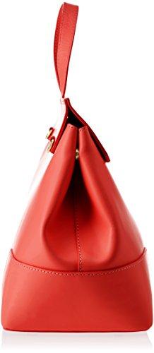 Chicca w Borse 38x29x18 Cm A Borsa 8697 L H red X Spalla Donna Rosso 88d4wrxq