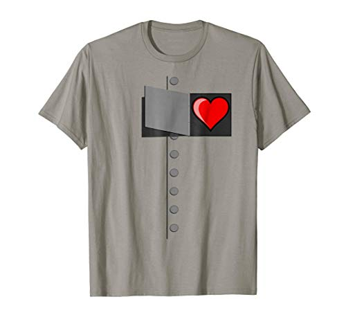 OZ Halloween Tinman Costume Shirt for Men Women & Kids]()