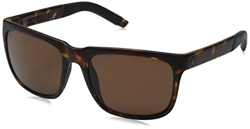 Electric Knoxville S Rectangular Sunglasses, MATTE TORT, 56 mm