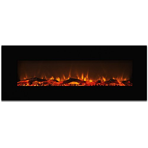 50 inch wall fireplace - 9