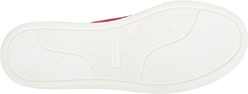 Love Moschino Women's Suede Platform Sneaker Red 35 M EU by Love Moschino (Image #2)