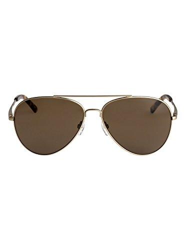 Quiksilver Gafas sol Brown EQYEY03035 Matte Gold Hombre de para Barrett TTp5rqaw6