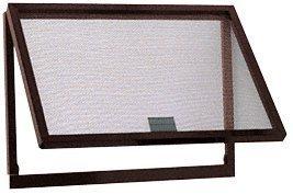 C.R. LAURENCE AW500BA CRL Bronze Finish Aluminum Screen Wicket with Aluminum Screen Wire by C.R. Laurence by C.R. Laurence