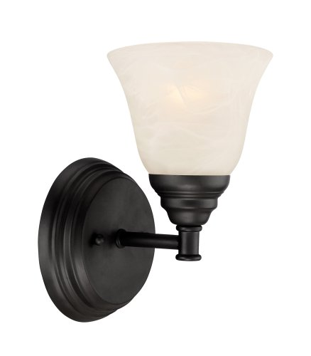Designers Fountain 85101-ORB Kendall Wall Sconce, Oil Rubbed Bronze