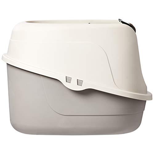 AmazonBasics Hooded Cat Litter Box, Standard