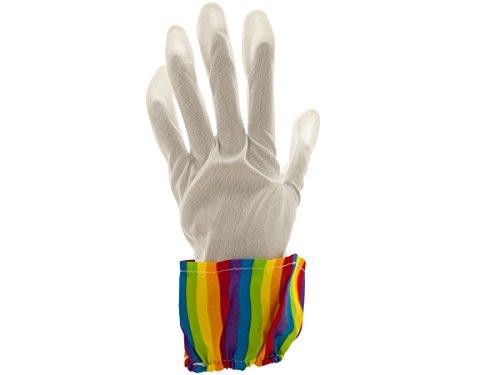 bulk buys Rainbow Clown Gloves