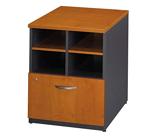 Wood & Style Office Home Furniture Premium Series C Collection 24W Piler Filer in Natural Cherry