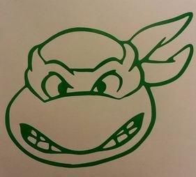 Ninja Turtle Decal ()