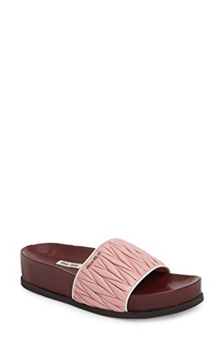 ミュウミュウ レディース サンダル Miu Miu Matelass Slide Sandal (Women) [並行輸入品]