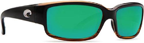 Costa Del Mar Caballito Sunglasses Coconut Fade/Green Mirror 580Glass