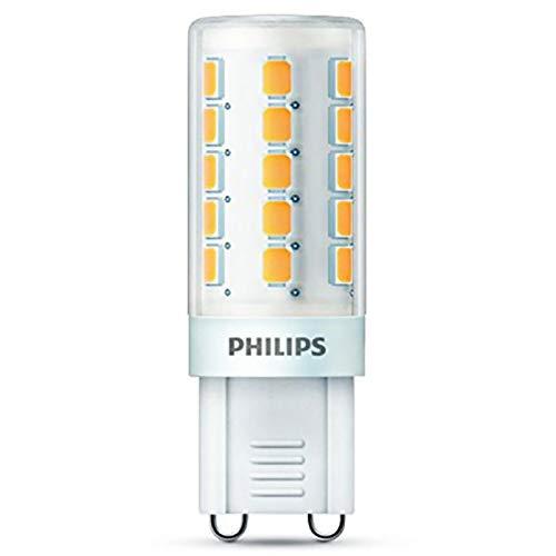 Philips Bombilla LED Casquillo G9, 3,2W equivalentes a 40W en incandescencia, 3000k, 400 lúmenes: Amazon.es: Iluminación