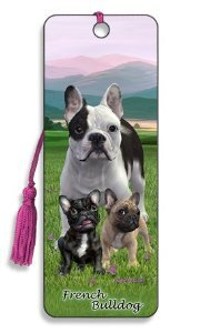Artgame - French Bulldog - 3D Bookmark from Artgame