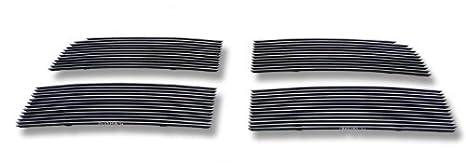 APS Compatible with 2010-2012 Dodge Ram 2500 3500 Stainless Steel Black Billet Grille D66864J