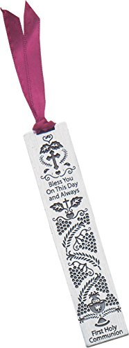 Cathedral Art BM101 Bless You on This Day First Holy Communion Metal Bookmark, 3-1/2-Inch