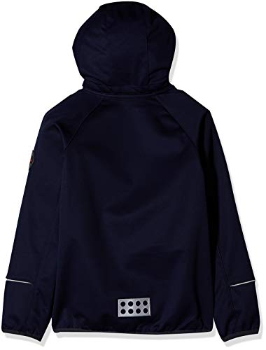LEGO Wear Unisex Jacket With Windproof Finish and Detachable Hood, Dark Navy, 13 Yr