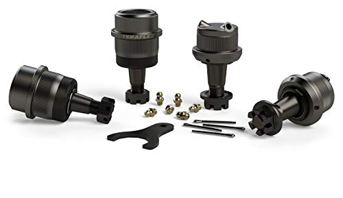TeraFlex 3442022 JK Dana 30/44 Complete Knurled Ball Joint Set ()