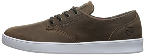Emerica The Romero Laced X Eswic, Color: Brown/White, Size: 39 EU