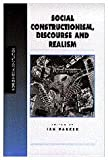 Social Constructionism, Discourse and Realism 9780761953760