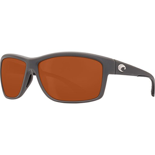 Mag Costa 580p Polarized Matte Gray Sunglasses Bay BrqdPAr