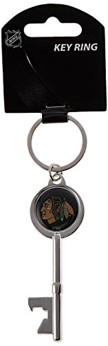 NHL Chicago Blackhawks Skeleton Key Bottle Opener Key ()