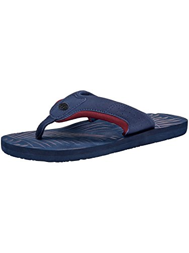 Animal Jekyl Aop Flip-flops - Dark Navy Uk 10
