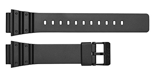 6f1555a76cd1 Casio correa de reloj MRW-200h   10393907 Caucho Negro 18mm(Sólo reloj  correa - RELOJ NO INCLUIDO!)  Amazon.es  Relojes
