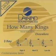 How Many Kings [Accompaniment/Performance Track] by Downhere (2009-02-17) (Accompaniment Cd King)