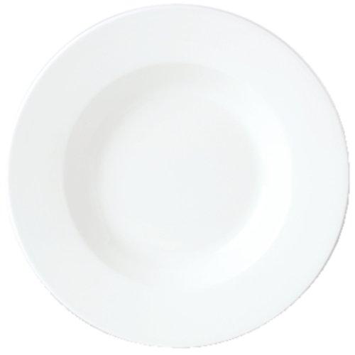 Steelite 11010350 Simplicity White 19 Oz Pasta Bowl CS 6