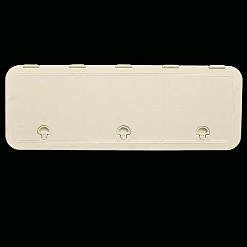 Bomar Boat Deck Hatch G71336-22T | 13 x 36 Inch Polypropylene Off White by Bomar