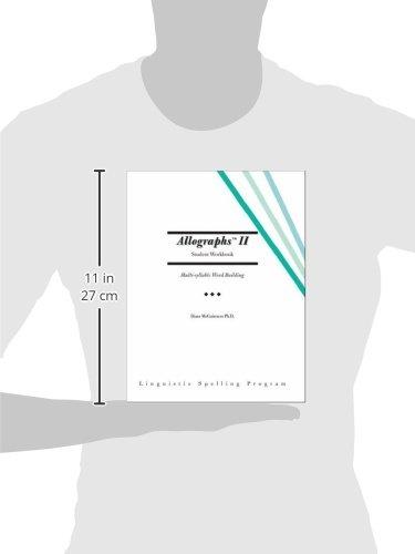 Amazon.com: Allographs™ II Student Workbook: Linguistic ...