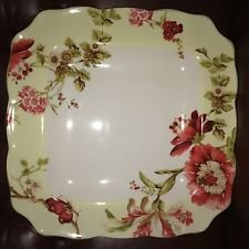 222 Fifth Lutece Square Dinner Plates Set of Four 10 3/4