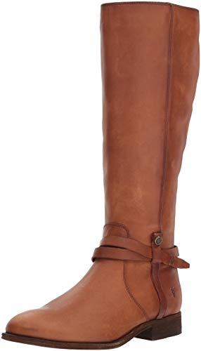 Exten FRYE Knee Belted Boot Cognac Women's Light High Tall Melissa zwz4xBqg