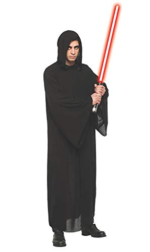 Adult Deluxe Sith Robe Black Standard with Light Saber Costume for $<!--$49.99-->