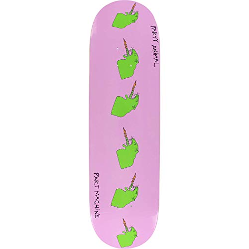 Party Animal Part Machine Jack Knife Skateboard Deck -8.5x32.25 Deck ONLY - (Bundled with Free 1'' Hardware Set)