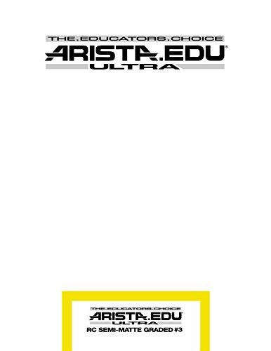 Arista EDU Ultra RC Black & White Photographic Paper, Semi-Matte #3, 8x10, 25 Sheets by Arista