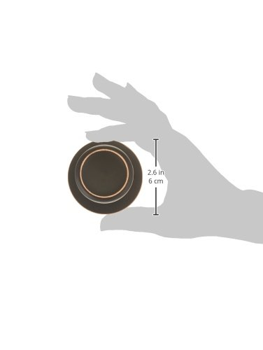 Design House 728691 Terrace Dummy Door Knob, Oil Rubbed Bronze, 1 by Design House (Image #1)