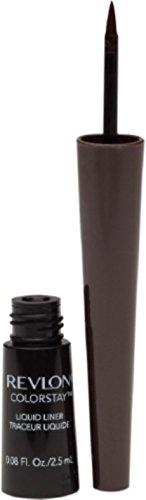 Revlon ColorStay Liquid Liner Eye Makeup, Black-Brown [252], 0.08 oz (Pack of 2) -