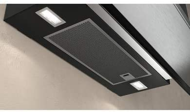 NEFF D95FRW1S0B - Campana extractora integrada para chimenea, color negro: Amazon.es: Grandes electrodomésticos