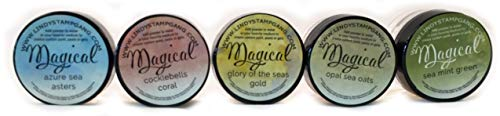 Lindy's Stamp Gang Magical Jar Set, 0.25-Ounce, Mermaid Seashells, 5 Per Package ()