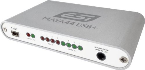 ESI MAYA44 USB+ 4 In / 4 Out Audio Interface