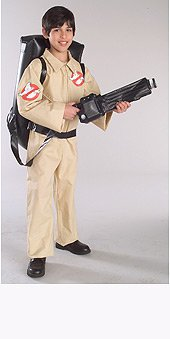 Ghostbusters Child's Costume, Large (Ghostbusters Halloween Costume Child)