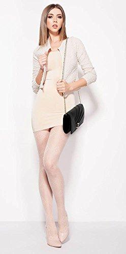 ANNA GRACE - Bolso pequeño al hombro de Satén para mujer Design 1 - Black